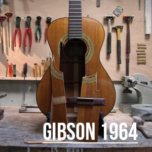 Gibson 1964 + Coup de sang = Changement de table !