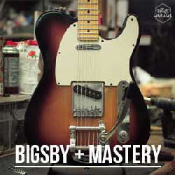 Customisation Fender Telecaster – Bigsby + Mastery Bridge