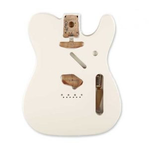 corps Fender telecaster olympic white