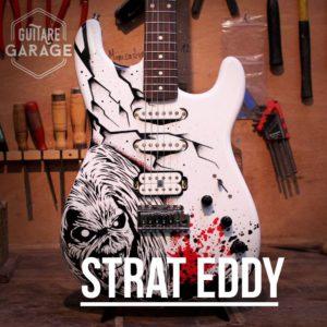 """UNE Strat """"eddy"""" EN HOMMAGE A IRON MAIDEN !"""